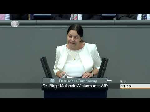 Birgit Malsack-Winkemann: Gesundheit [Bundestag 14.09.2018]