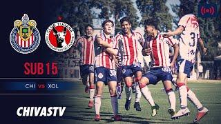 EN VIVO: Chivas vs Xolos | GRAN FINAL | LigaMX Sub15 | CHIVASTV