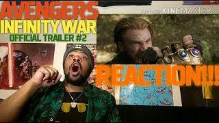 Marvel Studios' Avengers: Infinity War - Official Trailer #2 | REACTION!!!