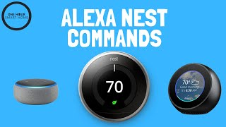 Alexa Nest Commands