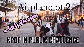 [KPOP IN PUBLIC CHALLENGE BRUSSELS] BTS(방탄소년단) - 'AIRPLANE PT 2- Dance cover by Move Nation