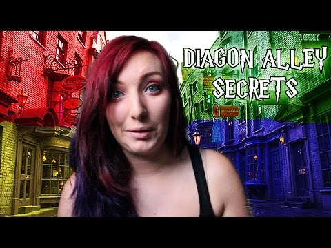 BEST KEPT Diagon Alley SECRETS At Wizarding World!