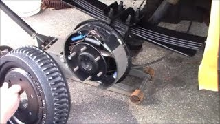 K5 Chevy Blazer - Installing Rear Drum Brakes for The Big Dummy - Video 3 of 3