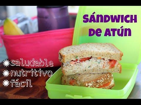 Cómo hacer sándwich de atún sin mayonesa (receta fácil)