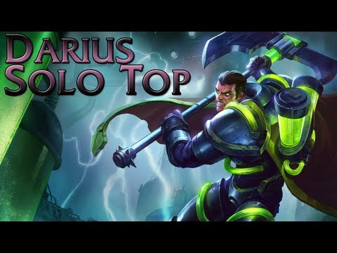 League of Legends - Bioforge Darius Top - Full Game Commentary