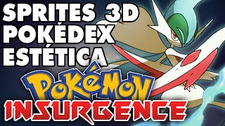 ANIMACIONES 3D, ESTÉTICA Y POKÉDEX EN POKÉMON INSURGENCE | The_Suzerain | BEST GAME 2014
