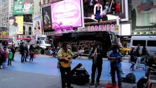 Times Square Street Musicians 10-20-11