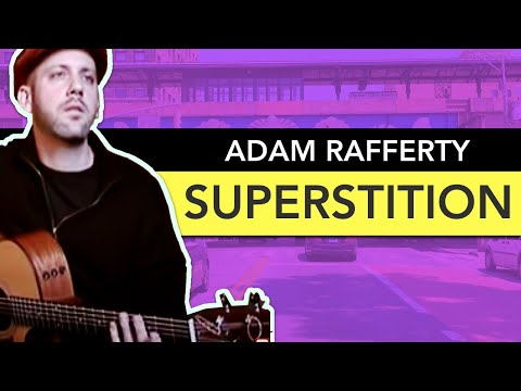 Adam Rafferty - Superstition by Stevie Wonder - Solo Guitar