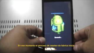 Hard reset/restauracion de fabrica celular Movic Z3