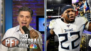 Is Derrick Henry having best postseason for a running back ever? | Pro Football Talk | NBC Sports