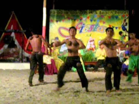 The Coconut Dance (maglalatik) video