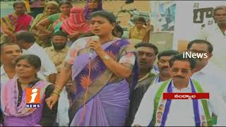 YSRCP MLA Roja Serious Comments On TDP Govt In Nandyal | Nandyal By Election War | iNews