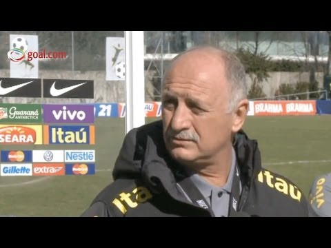 Italy vs Brazil - Luis Felipe Scolari interview