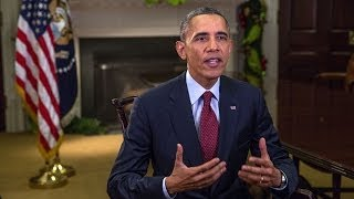 (Weekly Address) Calling on Congress to Extend Unemployment Benefits this Holiday Season  12/7/13