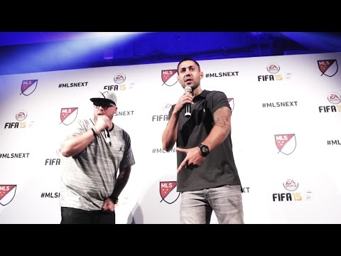 "WATCH: Clint Dempsey's rap performance of ""Hot Fire"""