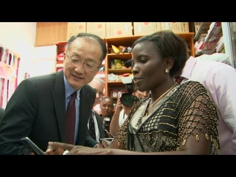 Jim Yong Kim and Ban Ki-moon Visit the Horn of Africa