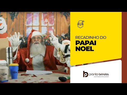 PRONTO BRINDES - NÃO DEIXE OS BRINDES DE FINAL DE ANO PARA ÚLTIMA HORA - RECADO DO PAPAI NOEL.