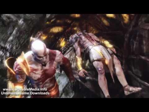 God of War 3 - Kratos vs Zeus Final Battle pt 3 / 3 HD