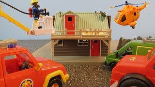 Fireman Sam Toys Episode 6 Mikes Accident Fire Mountain Rescue Station 2018 Toy Phoenix Wallaby 2