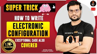 Super Trick  How to Write Electronic Configuration