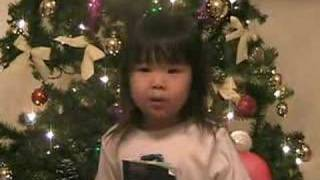"ENJOY THIS: tiny 2 year old girl sings: ""Silent Night""!!!!!"