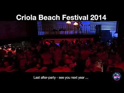 CRIOLA BEACH FESTIVAL 2014: Last after party, bye bye Criola..