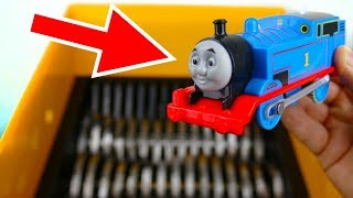 SHREDDING THOMAS THE TRAIN TOY
