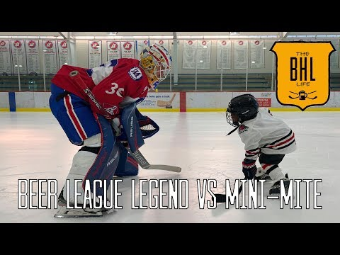 The BHL Life | Beer League Legend VS Mini-Mite (Episode #49)