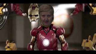 NEY IRON MAN. I am IRON WOMEN/ Я железная женщина!