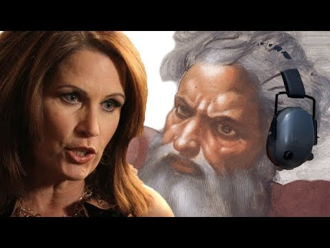 Apparently Even God Ignores Michelle Bachmann