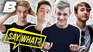 MILAN KNOL, GAMEMENEER, LINKTIJGER & JEREMY IN | SAY WHAT? - Concentrate BOLD