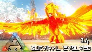 ARK: SURVIVAL EVOLVED - ALPHA PHOENIX TAMING !!! | ARK EXTINCTION ETERNAL MODDED GAMEPLAY E14