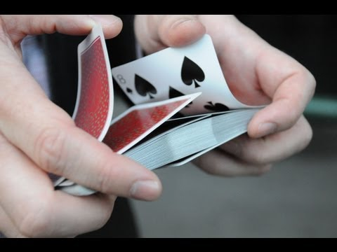 In The Hands Riffle Card Shuffle Tutorial (with bridge ending)