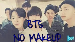 BTS NO MAKEUP - BARE FACE APPRECIATION