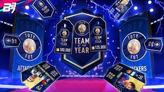 TEAM OF THE YEAR PACK OPENING! 100K AND 125K PACKS! | FIFA 19 ULTIMATE TEAM