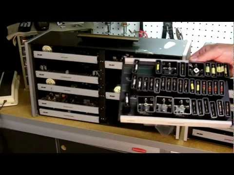 Vintage Lab-Volt Electronic Training Modules Video