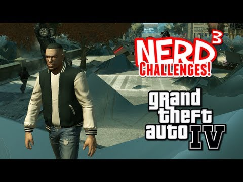 Nerd³ Challenges! Carmageddon AND Tsunami! - GTA IV