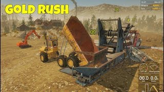 Gold Rush: The Game #11 | Estrenando el Volquete y la Excavadora Grande