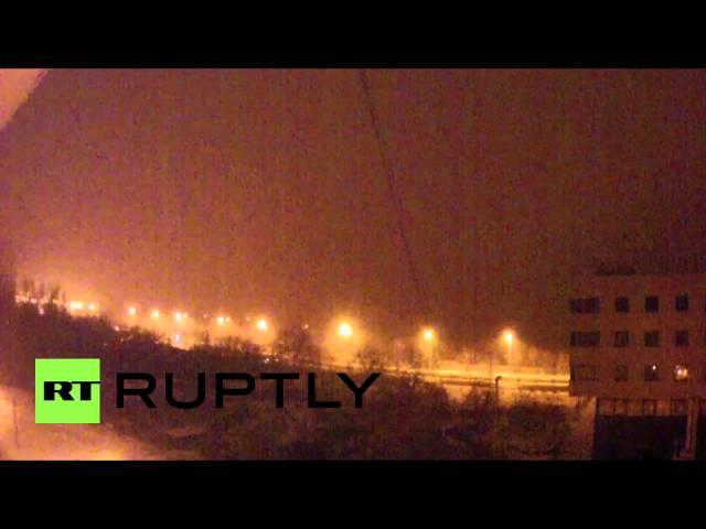 Ukraine: Shelling PUMMELS Donetsk Airport