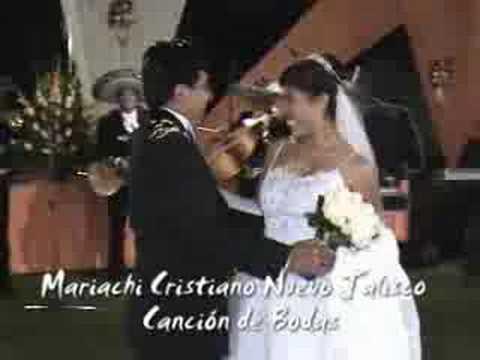 MATRIMONIO  CRISTIANO - CANCION DE BODA - MARIACHI NUEVO JALISCO - 5681512 - 989993475