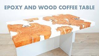 "DIY Live Edge Epoxy / Resin Coffee ""River Table"""