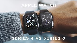 Apple Watch Series 4 vs Apple Watch Series 0 (First Gen)