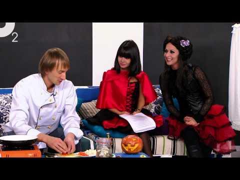 Хэллоуин на телеканале о2. Готовим тыкву! )