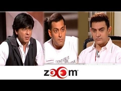 Interview with Bollywood's Top 3 Khans - Shahrukh, Salman & Aamir