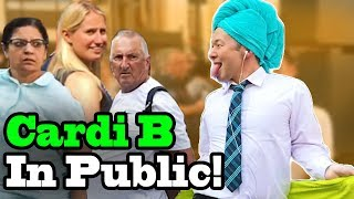 "Download Lagu Cardi B, Bad Bunny, J Balvin - ""I Like It"" - SINGING IN PUBLIC!! Gratis STAFABAND"
