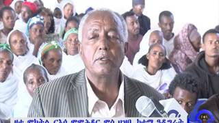 Tigrai Tv: Adigrat residents discussed with D.r Addisalem Balema