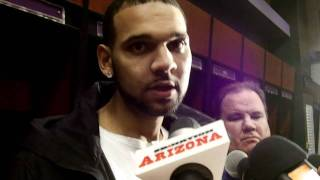 Jared Dudley, postgame Suns vs. Cavs (01-12-12)