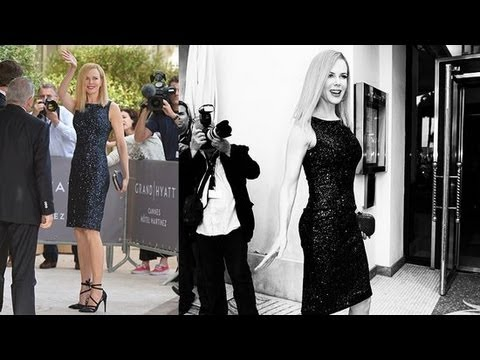 Nicole Kidman's Little Black Dress at Cannes Festival | Fashion Flash