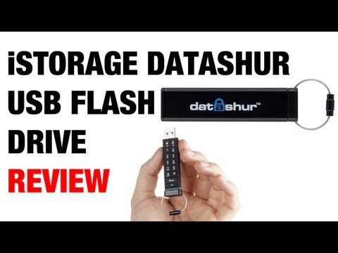 iStorage Datashur Secure USB Flash Drive Review
