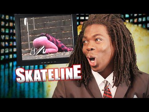 SKATELINE - Cory Kennedy, Olympic Skateboarding, Daan Van Der Linden, Oscar Candon